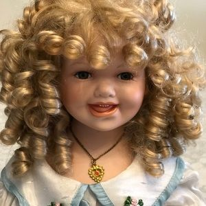 Other - Beautiful Antique porcelain doll